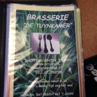 "Photo taken at Brasserie ""de Tuynkamer"" by Huib G. on 2/15/2014"