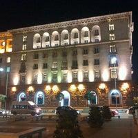 Photo taken at Sofia Hotel Balkan by Vladimir T. on 11/2/2012