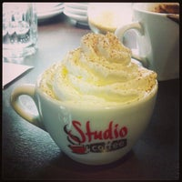 Photo taken at Studio Coffee by Egor T. on 2/16/2013