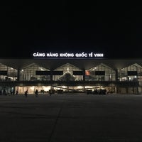 Photo taken at Vinh Airport by Samuel C. on 5/8/2016