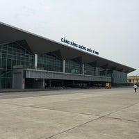 Photo taken at Vinh Airport by Samuel C. on 9/5/2016