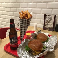 Photo taken at F. Ottomanelli Burgers and Belgian Fries by Stephanie A. on 3/16/2017