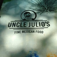 Photo taken at Uncle Julio's Rio Grande Cafe by Rayyan M. on 6/8/2013