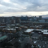 Photo taken at Crowne Plaza Syracuse by Sean D. on 1/9/2016