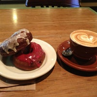 Photo taken at Dynamo Donut & Coffee by Kelly M. on 1/13/2013