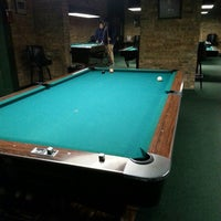 Photo taken at Chicago Billiards Cafe by J A. on 3/11/2014