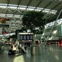 Photo taken at Dusseldorf Airport (DUS) by Oleg S. on 6/18/2013