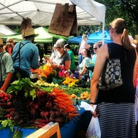 Photo taken at Tower Grove Farmer's Market by Haley L. on 6/29/2013
