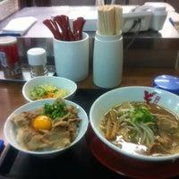 Photo taken at 中華そば どん by Kazuyoshi F. on 10/20/2012