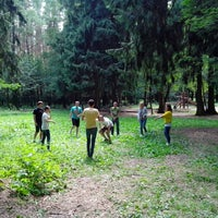 Das Foto wurde bei Мещерский парк von Dmitriy S. am 6/23/2013 aufgenommen