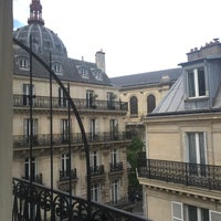Photo taken at Hôtel Augustin by Olga N. on 5/14/2016