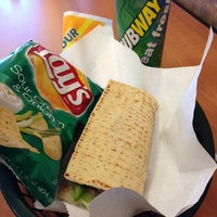 Photo taken at Subway by Grace D. on 3/21/2013