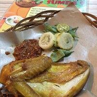 Photo taken at Ayam Penyet Sumba 9 by Veli Z. on 2/4/2014
