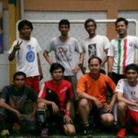 Photo taken at Goedang Futsal by Tyar S. on 2/23/2014