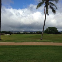 Photo taken at Ted Makalena Golf Course by Barry N. on 8/8/2014