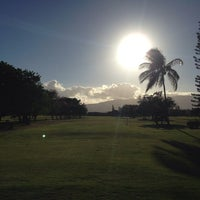 Photo taken at Ted Makalena Golf Course by Barry N. on 8/15/2014