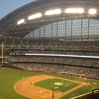 Photo taken at Miller Park by Beth G. on 7/6/2013