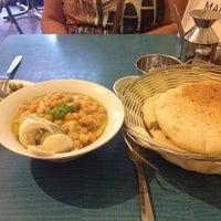 Das Foto wurde bei Hummus Mashawsha von Elena P. am 10/27/2013 aufgenommen