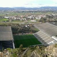 Photo taken at Estádio Municipal de Braga by Patrícia O. on 2/3/2013