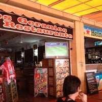 Photo taken at Los Geranios Bar Restaurante by Ivar H. on 10/28/2012