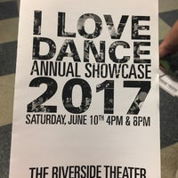 Photo taken at Riverside Theater by Chanel B. on 6/10/2017