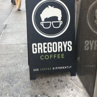 Photo taken at Gregory's Coffee by Chanel B. on 8/16/2017