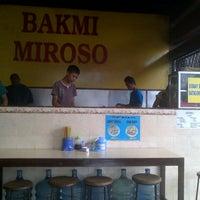 Photo taken at Bakmi Miroso by AndreHandoyo.com .. on 8/7/2013