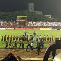Photo taken at Stadion Andi Mattalatta (Mattoangin) by udhien c. on 8/28/2016