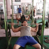 Photo taken at kandangan gym and fitness center by Arif Rokhman H. on 9/17/2012