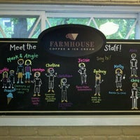 Photo taken at Farmhouse Coffee and Ice Cream by EM H. on 9/30/2012