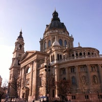 Photo taken at St. Stephen's Basilica by John D. on 3/2/2013