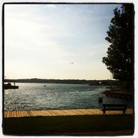 Photo taken at Barrie Waterfront by Chris G. on 9/29/2013
