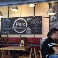 Photo taken at Pax Homemade Burgers by Dimitris V. on 8/5/2015