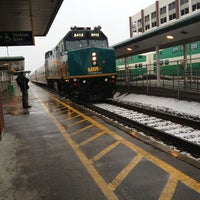 Photo taken at Oakville GO Station by Mike M. on 2/27/2013