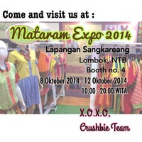 Photo taken at Mataram Expo 2014 by Dhaniek R. on 10/7/2014