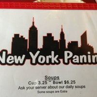 Photo taken at New York Panini by Stella K. on 6/8/2013
