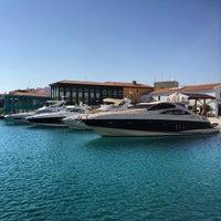 Photo taken at Limassol Marina by Katya M. on 9/23/2014