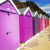 Photo taken at Bournemouth Beach by Migue P. on 3/31/2013