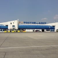Photo taken at Rostov-on-Don Airport (ROV) by Bngpnk . on 7/13/2013