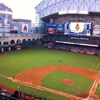 Photo taken at Minute Maid Park by John B. on 5/4/2013
