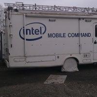 Photo taken at Intel - Jones Farm Campus by Valdir Gomes S. on 3/14/2013
