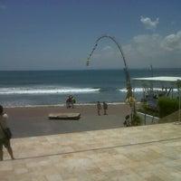 Photo taken at Pantai Segara Ayu by harry t. on 10/3/2012