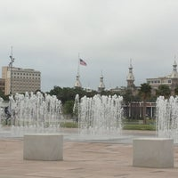 Photo taken at Curtis Hixon Waterfront Park by Suleika S. on 3/24/2013