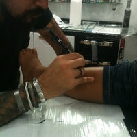 Photo taken at Paulo Tattoo by Isabelle R. on 4/9/2013