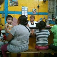 Photo taken at gorditas, sopes y tlacoyos de Juanita by Rodrigo A. on 4/4/2013