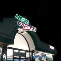 Photo taken at Hess Gas Station by Jaboo J. on 5/23/2013