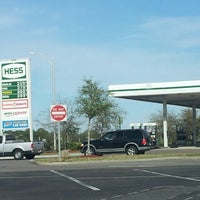 Photo taken at Hess Gas Station by Jaboo J. on 3/21/2013