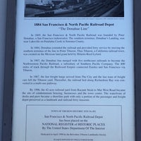Photo taken at Tiburon Railroad & Ferry Depot Museum by Musette H. on 7/13/2014