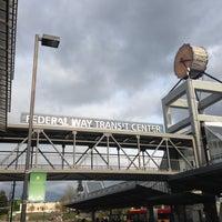 Photo taken at Federal Way Transit Center by David H. on 4/21/2013
