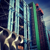 Photo taken at Pompidou Centre – National Museum of Modern Art by studioL on 7/6/2013